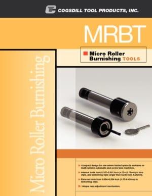 Roll-a-Finish Strumenti della per brunitura serie micro MRBT