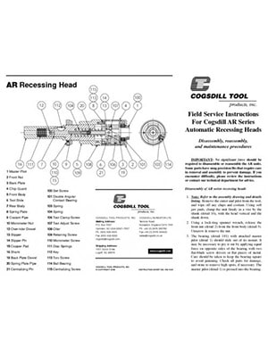 Istruzioni operative serie AR